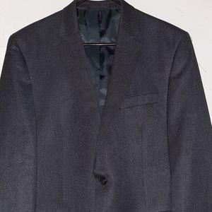 Chaps Suits & Blazers - Chaps 2 Button Blazer Grayish Black Men's 44L EUC